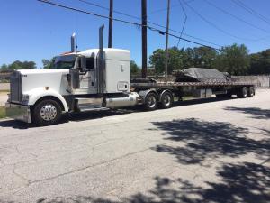 Truck 126 in Georgia